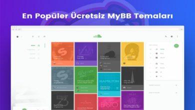 Photo of En Popüler Ücretsiz MyBB Temaları