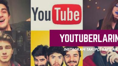 Photo of Türk Youtuber'ların Instagram Takipçi Sayıları Kaç?