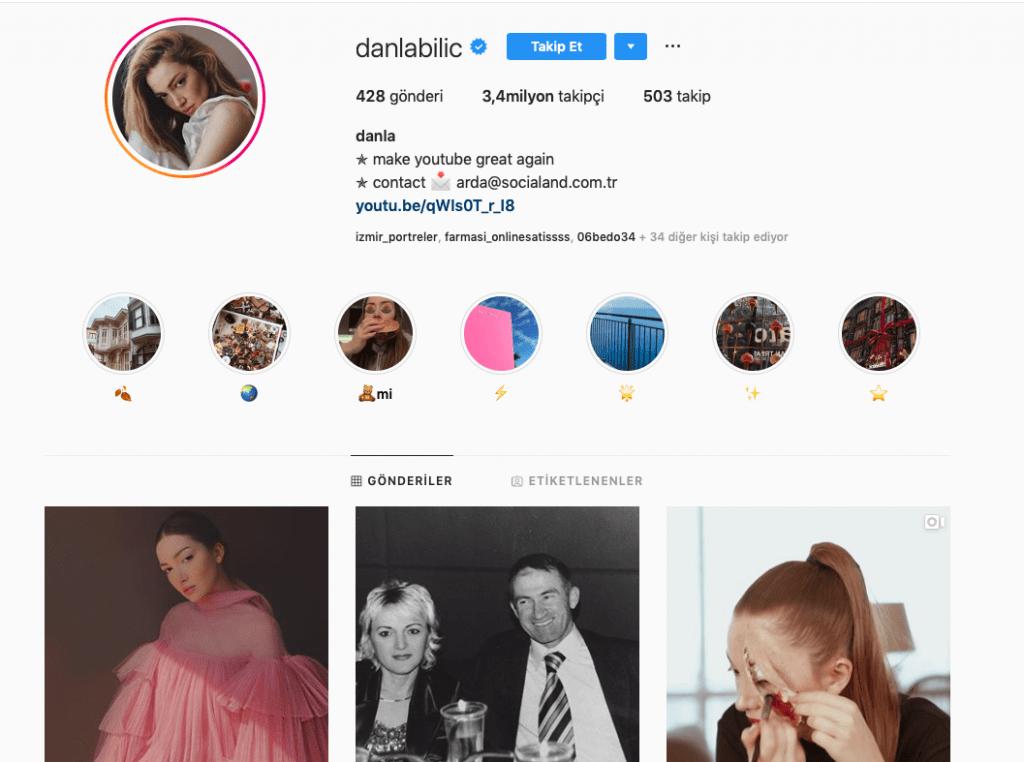 danla bilic instagram