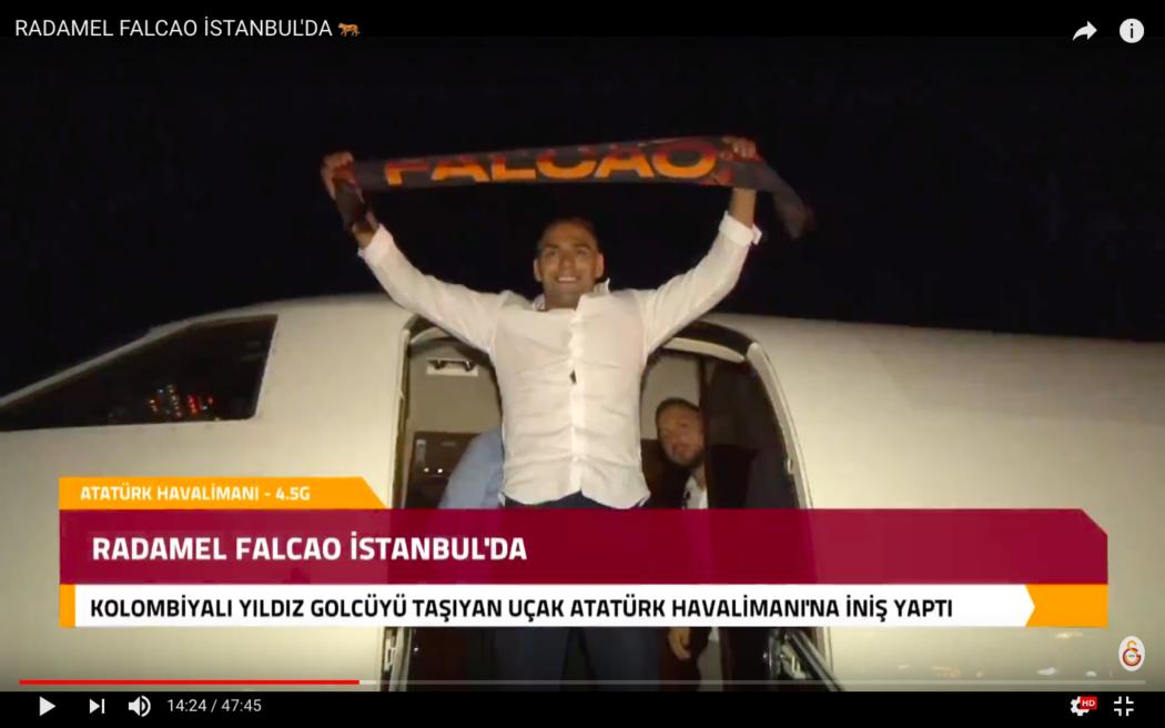 Photo of Radamel Falcao Galasaray'da – Youtube Kanalı Karşılama Videosu