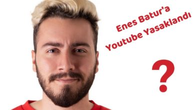 Enes Batur Youtube Video Yüklemesi YAsak Neden-min